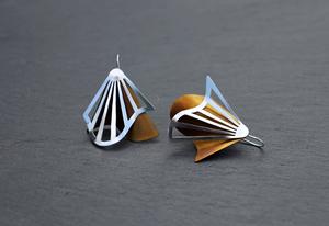 Radiating Swirl Earrings Hazel
