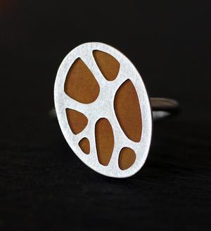 Patterns Organic Maxi Ring