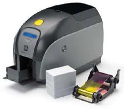 Zebra plastkortskrivare ZPX1 media