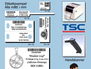 """36 månaders leasing Startkit """"Express"""" med TSC skrivare"""