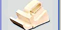Ringhållare, vit