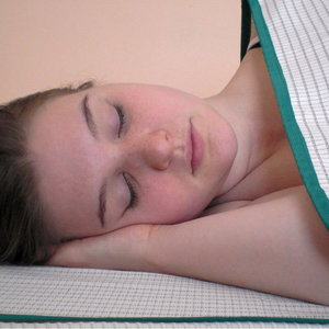 Cosmovital Madrassfilt och Filt (passar sängar 90x200 cm)