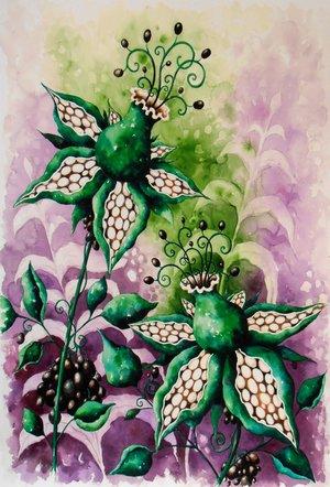 Trollbärsblomster