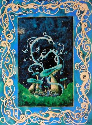 Säregen - konstkort