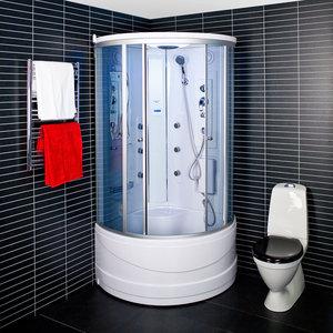 Kabina prysznicowa z hydromasażem parowa 6126