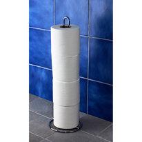 Stojak na papier toaletowy chrom