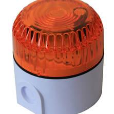 Orange flashing light 6W