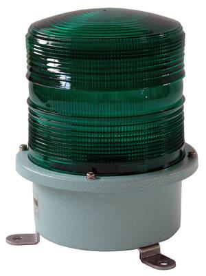 Grönt blixtljus 230V större