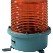 Orange blixtljus 230V mindre