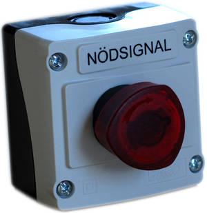 Older modell, Distress Button