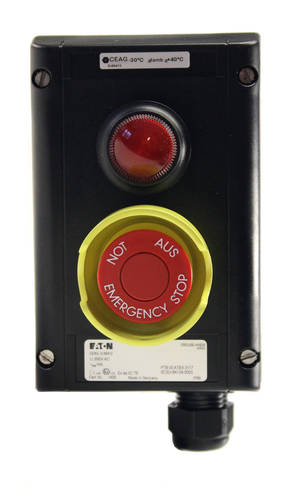 Emergency signal button SCB5DL Ex-rated and cold-resistant model