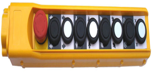 Actuator Handheld Control box with 8 buttons and emergency stop