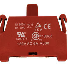 Extra contact block for SCB3 or SCB4, normally closed