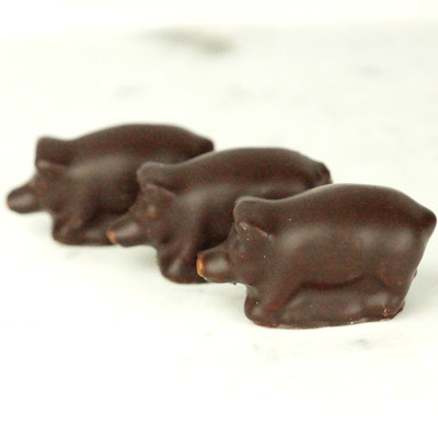 Marsipan - Stående grisar