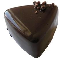 Chokladpralin - Romtryffel - Mörk