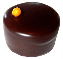Chokladpralin - Banantryffel - Mörk