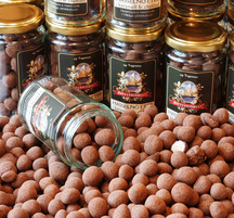 Karamelliserade hasselnötter