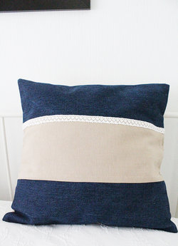 Tyynynpäälinen Lace jeans # 4