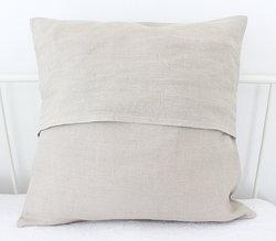 Tyynynpäällinen Linen lace beige