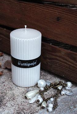 Ljus, vit pärlemor