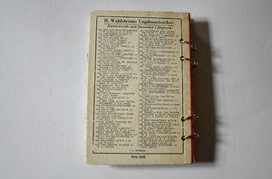 Kicki och Napoleon som anteckningsbok