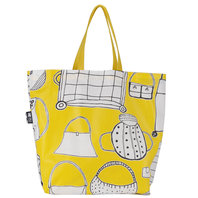 Oilcloth Bag The whole world in one bag