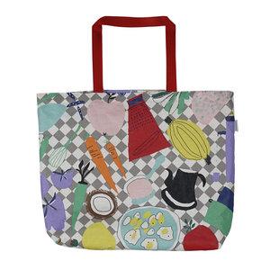 Olicloth Bag Livstycket – language is the key – integration