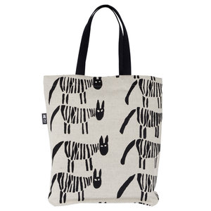 Tygkasse Zebra