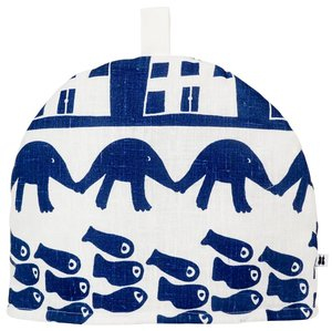 Tea Cosy The hedgehog and the fish