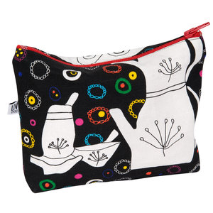 Toiletry bag We drink tea and learn the letter e