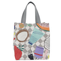 Small Oilcloth Bag Livstycket – language is the key – integration