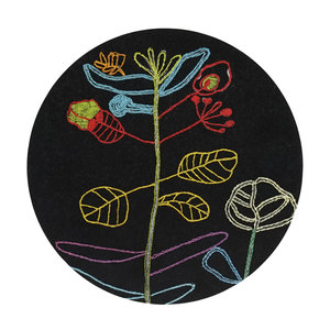 Trivet Embroidery for life