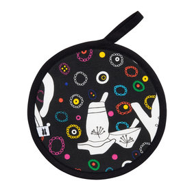 Pot Holder We drink tea and learn the letter e