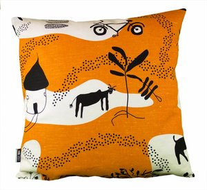 Cushion Cover  Turn right att the big mango tree