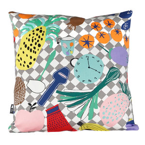 Cushion Cover Livstycket – language is the key – integration 50x50