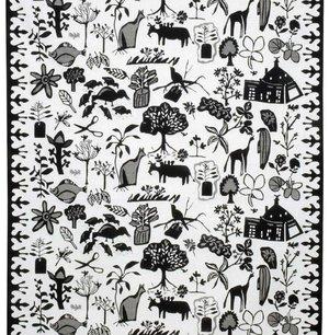 Fabric Rosendals kurbits