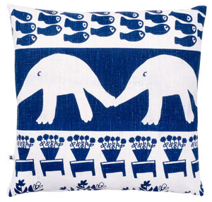 Cushion Cover The hedgehog and the fish 50 x 50