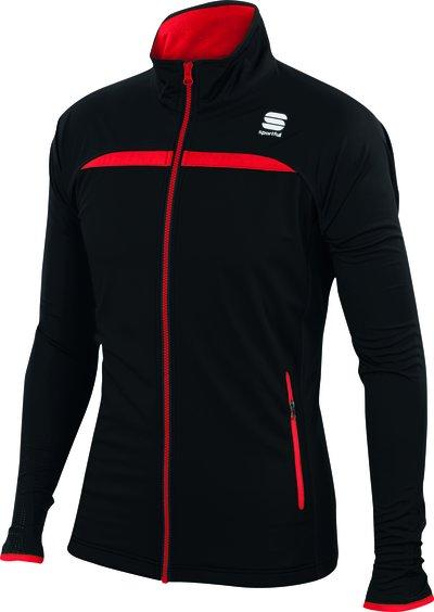 Sportful Engadin Wind jacket Black/Red 2016