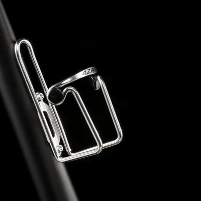 4ZA Stratos Bottle Cage Classic Silver