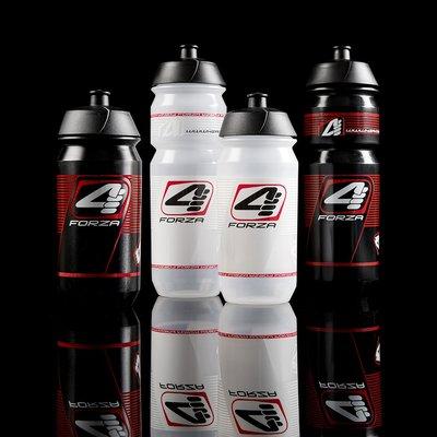 4ZA Bottle 750ml Black-Red