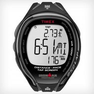 Timex - IRONMAN® Sleek 250-Lap Full size Black/Grey