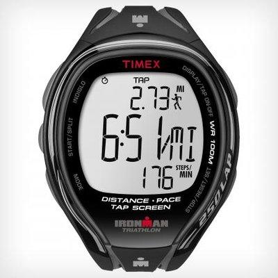 Timex - IRONMAN® Sleek 250-Lap Full size Black/Grey
