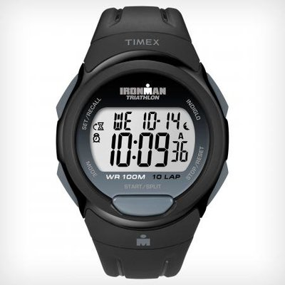 Timex - IRONMAN® Traditional 10-Lap Full size Black