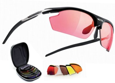 Rudy Project - Rydon Hunting Shooting  - Racing Red, Copper, Yellow, Transparent, Action Brown