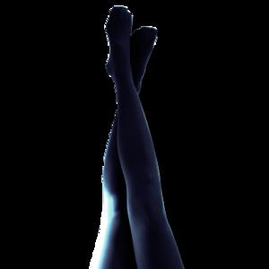 Emporio - marinblå. Strumpbyxa 40 den.