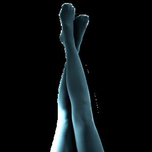 Corsair - turkos. Strumpbyxa 40 den.