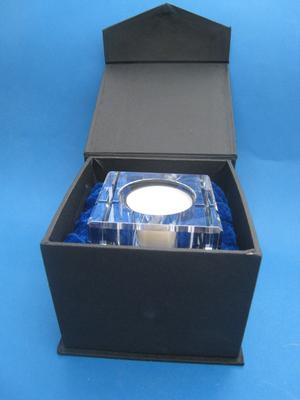 Ljushållare för värmeljus Hälsingebock GLAS