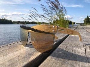 59°North Wheels frameless solglasögon Guld/svart