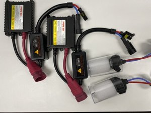 Xenonkonverteringskit, 2 ballaster och 2 lampor