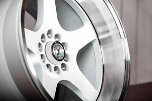 "59°North Wheels D-004 11x18"" ET15 5x114/5x120 white/polished lip"
